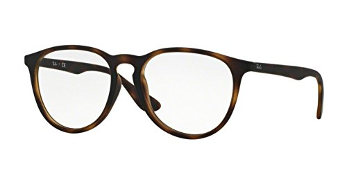 Ray-Ban Women's RX7046F Eyeglasses Rubber Havana 55mm by Ray-Ban