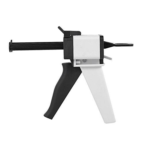 (Dental Equipment Impression Mixing Dispensing Universal Dispenser Gun Silicon Rubber Dispenser Gun1:1/1:2 50ml Teeth Care Tool)