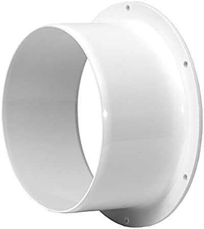"""150mm Hydroponics Ducting Connector Ventilation Duct Tube Kitchen Bathroom 6/"""""""
