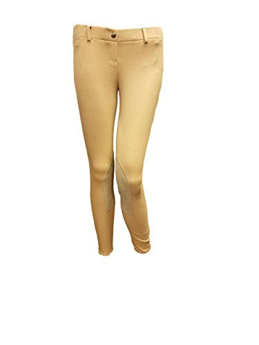 Rise Low Breech (Shires Essentials Low Rise Ladies Pull On Breeches Light Tan Size 24)