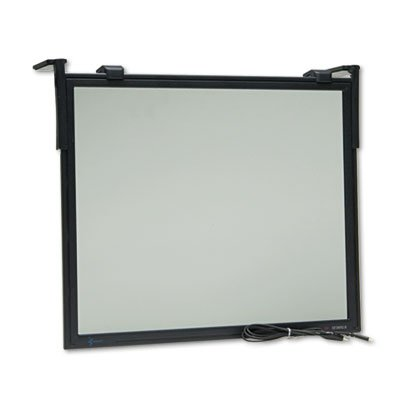 "Antiglare Executive Flat Frame Monitor Filter, 16""-19"" CRT/17""-18"" LCD from 3M/COMMERCIAL TAPE DIV."