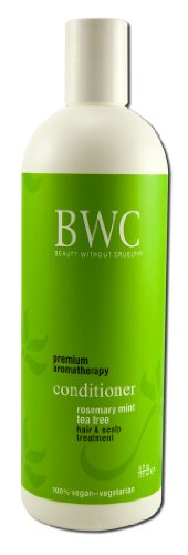 Beauty without Cruelty Conditioner, Rosemary Mint Tea Tree, - Aromatherapeutic Conditioner Hair