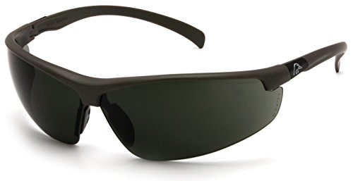 Ducks Unlimited Shooting Eyewear, Black Frame/Smoke Green Lens