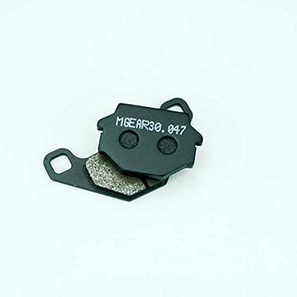 MetalGear Bremsbel/äge hinten f/ür Kawasaki KLR 650 A 1987-2007 KL650A