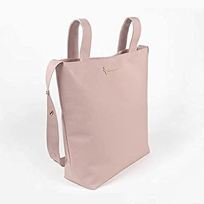 Pasito a Pasito - Bolsa panadera o bolso para silla de paseo Elodie en polipel nude Bolsa para silla de paseo, muy elegante y práctica, para llevar ...