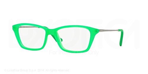 Ray-Ban Jr. Eyeglasses RY1540 3619 Green Fluo Trasparent Rubber 46 14 125