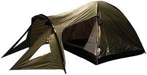 Backside T-3 3 person 3 season Tent (Green/Black), Outdoor Stuffs