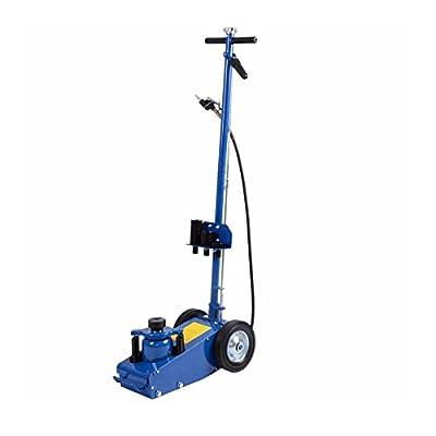 22 Ton Hydraulic Air Floor Jack HD Truck Lift Jacks Service Repair Lifting Tool w/ Wheels