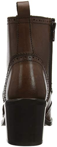 brown Heritage Joe Bottines A Leather Ankle Boots Browns Femme Marron 55qrA8wH