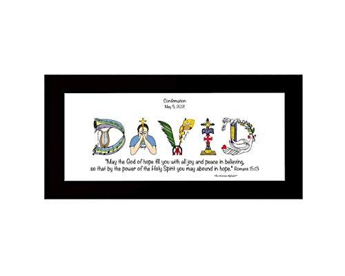 Confirmation Gift for Girls or Boys Add Photo Frame and Poem for Him or Her