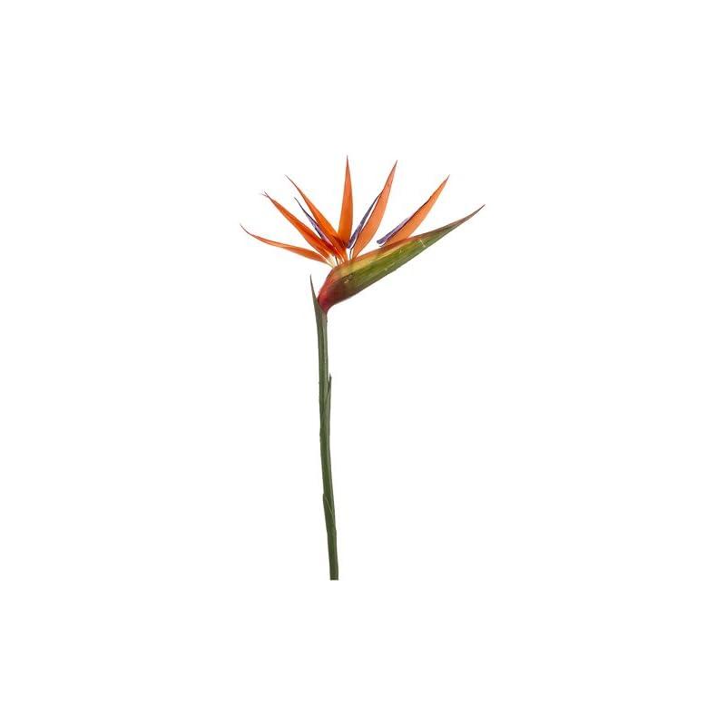 "silk flower arrangements 12 pieces of 36"" bird of paradise artificial bendable flower sprays"