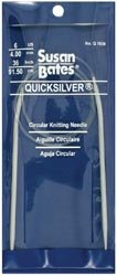 Bulk Buy: Susan Bates Quicksilver Circular Knitting Needle 36
