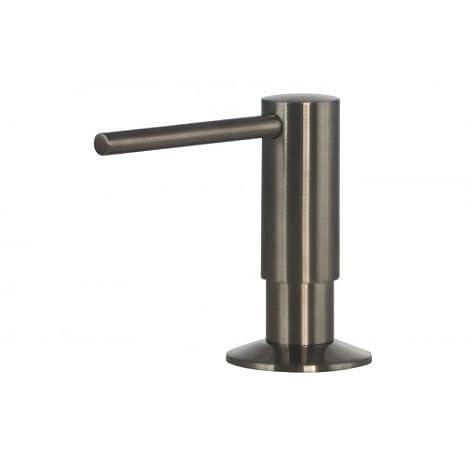 Dispensador de jabón acero inoxidable Mizzo Govaro - 5 años de garantía de dispensador de jabón/dispensador de jabón accesorios fregadero cocina - de ...