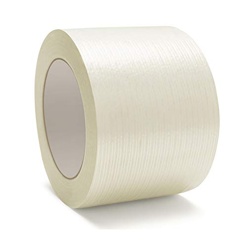 - Heavy Duty Packing Tape, Filament Reinforced Tape Rolls, 4.0 Mil Thick, Clear, 3 Inch x 60 Yards, 8 Pack
