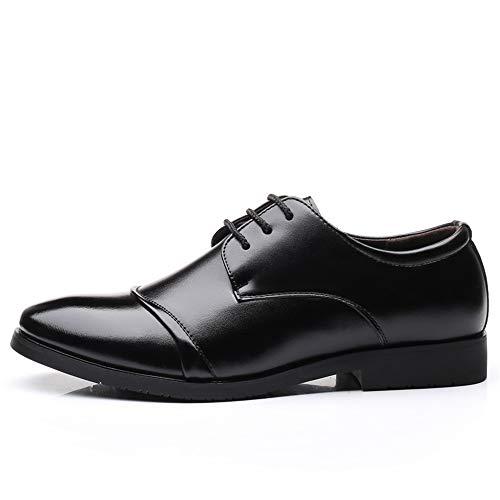 Taille Loisirs Shuo Simple Lace Cricket Noir Chaussures Noir color Lan chaussures Pour Casual Eu De Oxford 44 Hommes Up Texture cqg4zqaFr