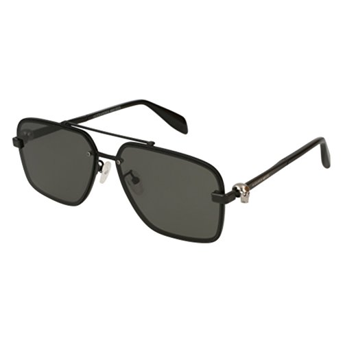 Sunglasses Alexander McQueen AM 0081 S- 002 BLACK / - Mcqueen Alexander Men Sunglasses