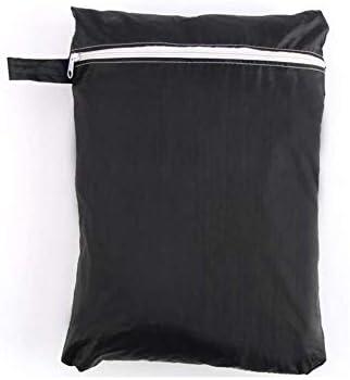 Prettyle Housse de protection ronde pour meubles de jardin, barbecues et meubles d'extérieur 70 x 70 cm