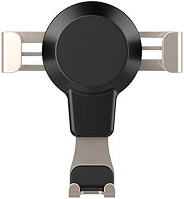 車の電話ホルダー、4.6-7.0インチの携帯電話またはGPS装置に適したユニバーサル回転空気出口、2色 (色 : ゴールド)
