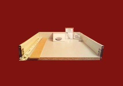Kitchen Drawer Box   Standard Metal Sided   450mm D X 90mm H X 500mm W   To