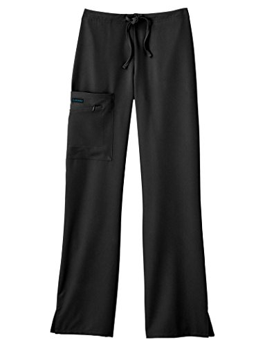 Classic Fit Collection by Jockey Women's Tri Blend Zipper Scrub Pants Large Tall (Fit Collection)