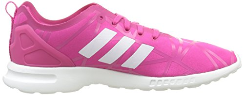eqt Flux Adidas White Basses core Smooth Baskets Femme Rose Pink Pink Zx eqt Cqzw5q6