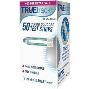 TRUEtrack Blood Glucose Test Strips(300 Count) by TRUETRACK