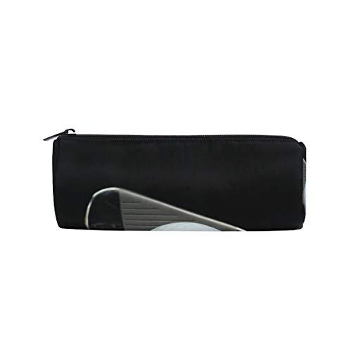 Golf Pen Bag Shape - Pencil Case Cylinder Shape Holders Sport Golf Ball Leisure Game Pen Stationery Pouch Bag with Zipper