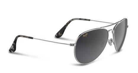 Maui Jim Sunglasses - Mavericks / Frame: Silver Lens: Neutral - Maui Frames Glasses