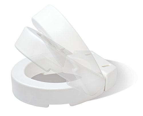 Carex Health Brands Hinged Toilet Seat Riser Round New Ebay