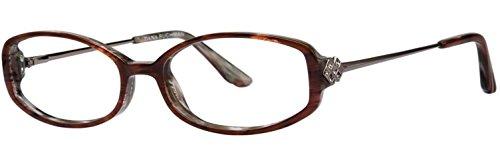 Eyeglasses Dana Buchman HAZEL BURGUNDY HORN Burgundy (Hazel Horn)