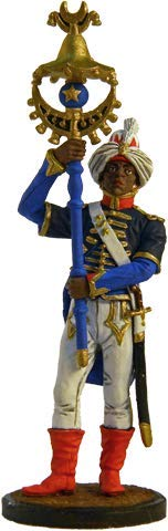 Nap-25-color Tin Army Musician of The Regiment Orchestra Tin Toy Soldiers Metal Sculpture Miniature Figure Collection 54mm Scale 1//32