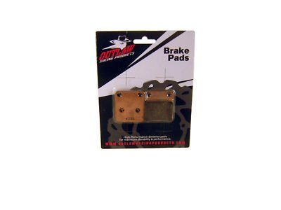 Sintered Rear Brake Pads Honda CBR600F4i CBR600RR