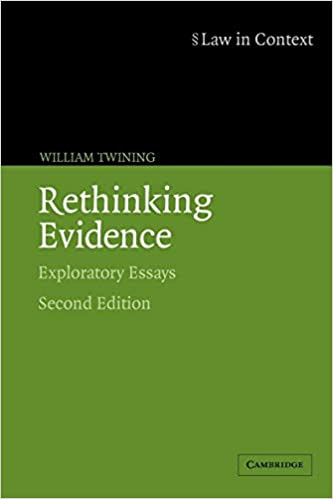 context essay evidence exploratory in law rethinking