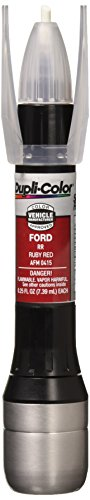 Dupli-Color Single EAFM04150 Scratch Fix All-in-1 Exact-Match Automotive Touch-Up Paint, Ruby Red RR.25 Ounce