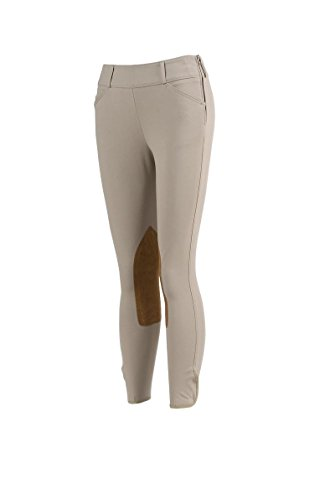 Tailored Sportsman Trophy Hunter Mid Rise Breeches Side Zip Tan (28R)
