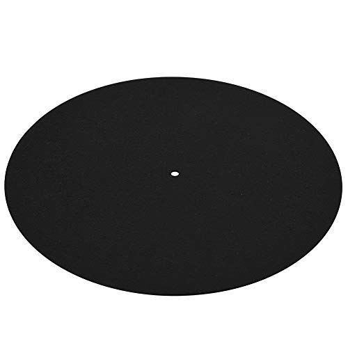 Gaming Mouse Pad, Ultra-Thin Anti-Static Vinyl Turntable Record Pad Antistatic Flat Soft Mat Slipmat Mat Pad Replacement