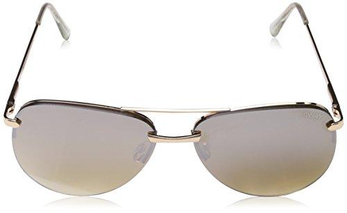 Quay Brown Australia de para sol hombre Gafas Eyewear Dorado Gold rr4zwq1