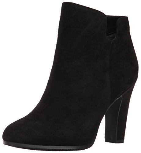 Black Suede Bootie - Sam Edelman Women's Shelby Ankle Bootie, Black Suede, 10 M US