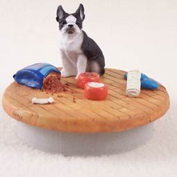 Conversation Concepts Miniature Boston Terrier Candle Topper Tiny One