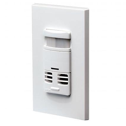 Quality Home Art-culos 606,761 120V Leviton Ocupaci-n Sensor Switch Blanco