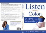 Read Online Listen to Your Colon: The Complete Natural Healing Guide for Constipation PDF