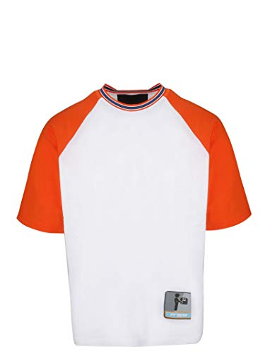 (Prada Men's Ujn5421ta8f011g White Cotton T-Shirt)
