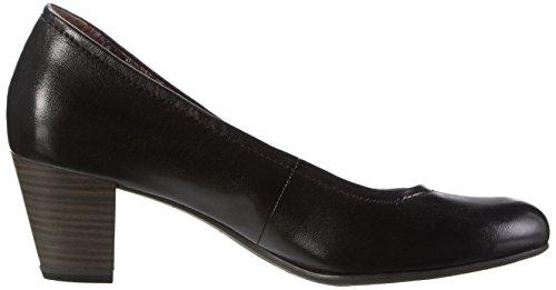 Tamaris 22408 Pumps toe 001 Closed black Women''s Black rP5vBqnWrw