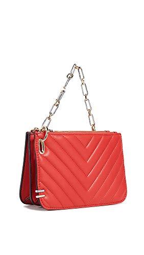 reTH Women's Dallas Crossbody Bag, Red, One Size