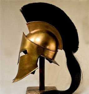 Junglevibes King Spartan 300 Movie Helmet With Liner For Reenactment Larp Role Play Cosplay