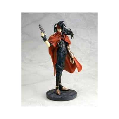 Final Fantasy VII Vincent Valentine Coldcast Status 1/8 Scale: Toys & Games