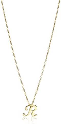 Roberto Coin Initial Pendant Necklace