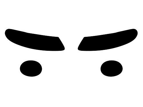 Rvinyl Rtint Headlight Tint Covers for Pontiac GTO 2004-2006 - Blackout - Gto Covers Headlight