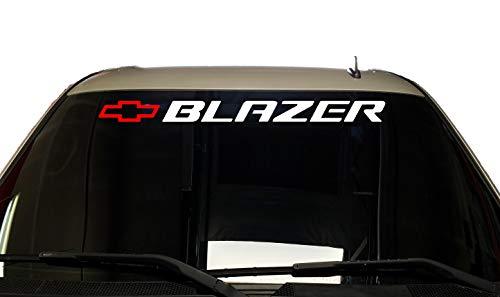 Chevy Trail Blazer Decal Sticker Chevrolet S10 Blazer Vinyl Graphics Window or Bed ()