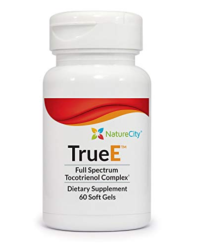 True E Full Spectrum Tocotrienol Complex - Helps Boost & Maintain Cardiovascular Health - 60 Soft Gels